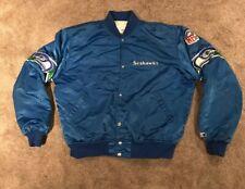 925c5030f5a Vintage 80s Starter Seattle Seahawks Satin Jacket Size L Rare NFL Authentic