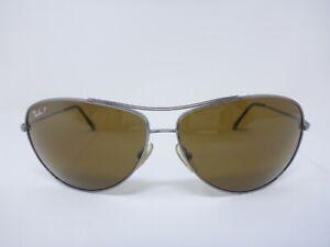 Ray Ban RB3293 Aviator Sunglasses Silver 67-13-125