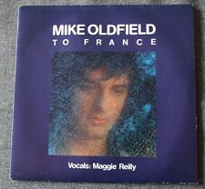 Mike Oldfield, to France / in the pool, SP - 45 tours  France