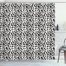 Leopardo Tenda da Doccia Monochrome Sketchy Stampa