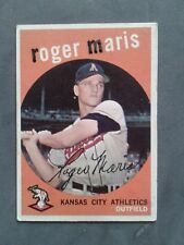 1959 Topps Baseball Roger Maris #202 Nice Condition