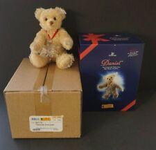 Steiff Daniel W/ Snowflake Swarovski Necklace Mohair- Signed - EAN 667718