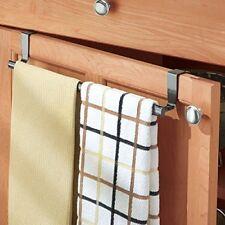Expandable Towel Bar Over the Cabinet Door Drawer Hanging Kitchen Storage Rack