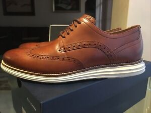 Mens Cole Haan Original Grand Wing Tip Shoes.