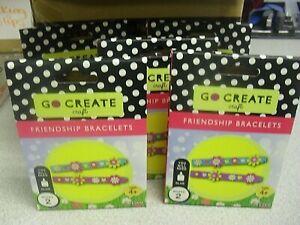 Wholesale - Go Create Friendship Bracelets Craft Kit - X12 packs Stocking filler