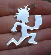 925 Silver Charm ICP Hatchet man pendant juggalo INSANE CLOWN POSSE,necklace