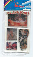 Vintage Puffy Stickers Indiana Jones Raiders of the Lost Ark Unopened