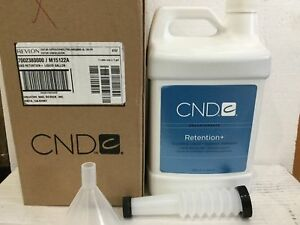 CND Retention+ Sculpting Liquid 1 Gallon (128oz) / 3785 mL Superior Adhesion