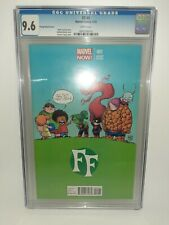 Marvel FF Fantastic Four #1 Scottie Young Variant Cgc 9.6 2013 FREE SHIPPING