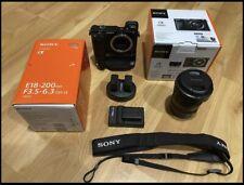 Sony Alpha A6000 Mirrorless Digital Camera With Sony E18-200mm Lens