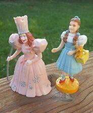 Wizard of Oz Presents Loew's MGM figures Glinda Good Witch & Dorothy