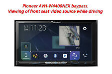 Pioneer AVH-W4400NEX baypass - Viewing of front seat video source while driving