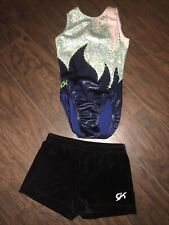 Gk Elite Gymnastics Leotard - Simone Biles - Adult Small & Shorts Am