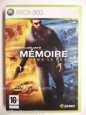 jeu LA MEMOIRE DANS LA PEAU pour xbox 360 francais game spiel juego gioco X360
