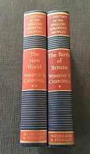 HISTORY OF THE ENGLISH SPEAKING PEOPLES CANADIAN.Churchill Winston1956vol1&2