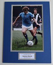 Rodney Marsh SIGNED autograph 16x12 photo display Manchester City AFTAL & COA