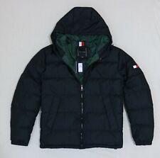 Tommy Hilfiger Men Puffer down Winter jacket Hood size...