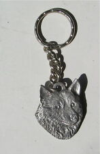 Norwegian Elkhound Key Chain