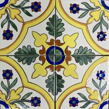 Primavera (Spring) Talavera Tile