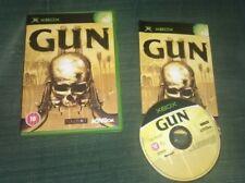 Original XBOX game GUN Boxed and Complete