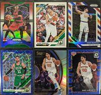Lot of (6) Enes Kanter, Including Donruss /349, Prizm RWBs, Select silver & more