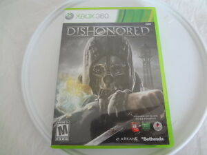 Dishonored  (Xbox 360) Used. Not Platinum Hits Version