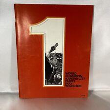 KC Kansas City Chiefs 1970 Yearbook World Champions Football Vintage Rare