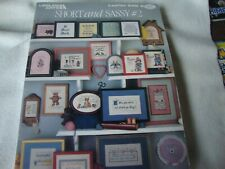 Short And Sassy #2 Cross Stitch Patterns - Leisure Arts Leaflet 548