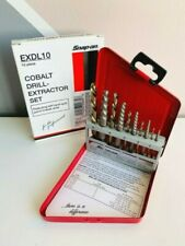 New Snap-On Exdl10 10pc Cobalt Drill Extractor Set $64.99+Free Shipping!