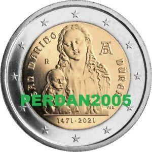 SAN MARINO 2021 2 EURO FOLDER 550º NASCITA ALBRECHT DÜRER SAN MARIN САН-МАРИНО