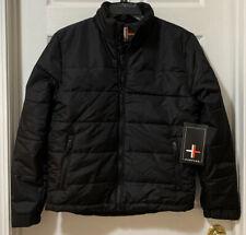 Surplus Men's Puffer Winter Coat Ski Jacket Black *U Pick Size - New!