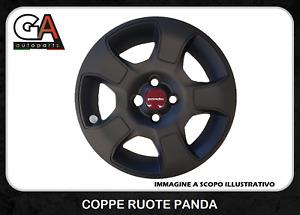 Coppe Ruote Panda 15 Set 4 Copricerchi Panda Cross Copponi Borchie
