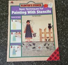 Basic Techniques for Painting With Stencils Decorative Painting Plaid