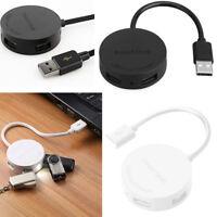 4 Port USB 3.0 Multi HUB Splitter Speed Adapter Konverter Für Laptops