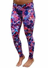 Women's Work Out Running Tights 10-12 Slimming Full Length Easy Fit Gym Pants