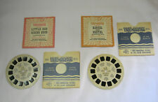 Vintage Hansel and Gretel Viewmaster Little Red Riding Hood Reels    T*