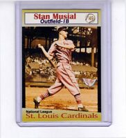 Stan Musial, '49 St Louis Cardinals rare Miller Press, only 200 were made 🔥