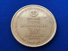 Israel Gov't Coin & Medal Corp. - Subscriber Token