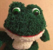 "Russ Christmas Li'l Softies Frog Named Flips 7"""