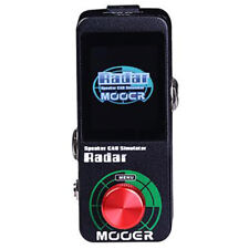 Mooer MSS1 Radar Speaker Can Simulator Guitar Effects Pedal