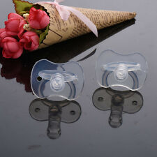 1 Pcs Newborns Baby Pacifiers for Dental Care Infants Bite Gags Supplies OA5