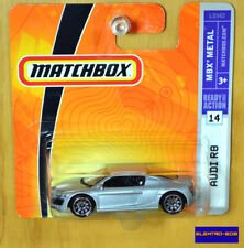 Matchbox Audi R8 [VHTF Silver] - New/Sealed/Rare [E-808]