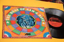 SAM & DAVE LP BEST OF 1° ST ORIGINALE ITALòY 1969 EX++ COPERTINA LAMINATA ! TOP