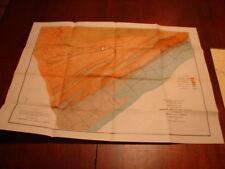 1879 Geological Map Stone Mountain Fault near Greenwood Furnace Huntingdon, Co.