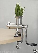 Miracle Stainless Steel Manual Wheatgrass Juicer MJ445 New