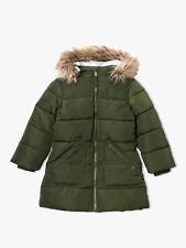 John Lewis & Partners Girls' Padded Coat / Khaki 4 Years Free P&P UK Seller