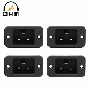 4PCS Power Socket IEC 320 C20 Male AC Power Cord Inlet Jack Connector 250V/16A