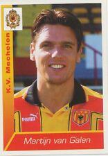 N°243 MARTIJN VAN GALEN # NETHERLANDS KV.MECHELEN STICKER PANINI FOOTBALL 2003