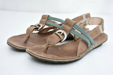 474957ae2df Timberland Earthkeepers Womens Comfort Leather Gladiator Thong Sandals Sz 7