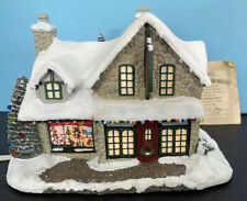 "Thomas Kinkade Christmas Hawthorne Village 2000 ""Santa's Workshop Toys"""